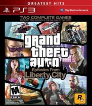 Jogo Grand Theft Auto Episodes From Liberty City PS3