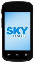 Celular SKY Devices Fuego - 3.5 Polegadas - Dual-Sim - 4GB - 3G - Preto