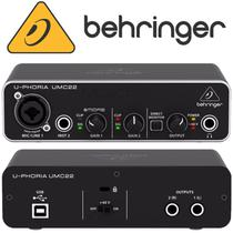 Placa Interface Behringer UMC22