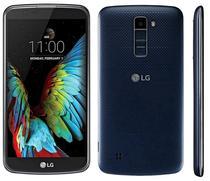 "Smartphone LG K10 K410F 16GB 3G Dual Sim Tela 5.3"" Cam.8MP+8MP-Preto/Azul"