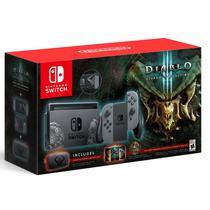 Console Nintendo Switch 32GB Gray Bundle Diablo 3 Eternal Collection