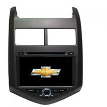 Central Multimidia Booster GM Chevrolet Sonic A107D S60 2012/2015
