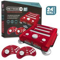 Console Retron 3 2.4GHZ Edition Snes/ Genesis/ Nes Laser Red Hyperkin