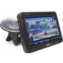 """GPS BAK BK-GPS4330 4.3"""" SD/FM Preto"""