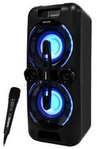 Caixa de Som Aiwa AWPOK3 - 600W Pmpo BT/USB/MP3/Aux + Microfone - Preto