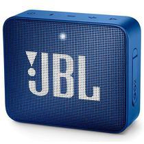 Caixa de Som JBL Go 2 com Bluetooth/Auxiliar Bateria de 730 Mah - Azul