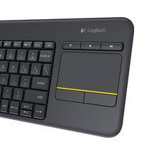 Teclado Logitech K400 Plus Touchpad (Espanol Preto