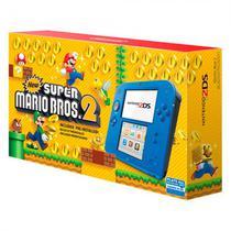 Console Nintendo 2DS Azul Bundle Mario Bros 2