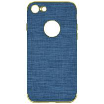Capinha para iPhone 7/8 Wesdar - Azul Clara/Dourada