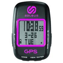 Relogio GPS para Bike Soleus SG200-011 Rosa GPS/Vel/Dist/Cal