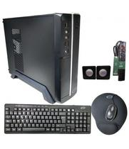 Gabinete Kit FTX103A Mini 500VA Mouse+Tec+Speakr+Pad+F