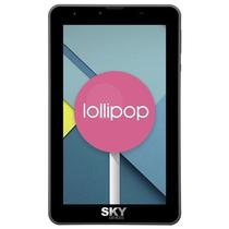 "Smartphone SKY Devices Elite 7.0L Dual Sim 8GB Tela 7"" 8MP/5MP Os 5.1 - Preto"