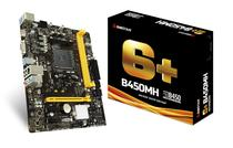 Placa Mãe AM4 Biostar B450MH HDMI/VGA/USB3.1/DDR4