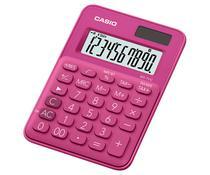 Calculadora Compacta Casio MS-7UC - Vermelho