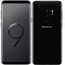 Smartphone Samsung Galaxy S9+ Plus SM-G9650 64GB Dual Sim 6.2DUAL Cam.12MP+8MP - Preto