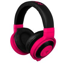 Headset Razer Kraken Neon Vermelho