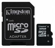 Cartão de Memória Micro SD Kingston 32GB 2X1