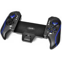Controle Sem Fio Quanta QTGBE5000 para Smartphone e Tablet de Ate 10 Polegadas com Bluetooth - Preto e Azul