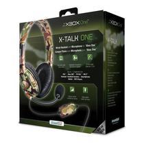 Headset Dreamgear X-Talk Gaming Camuflado Xbox One