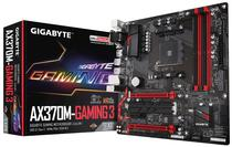 Placa Mãe Gigabyte AM4 AX370M-Gaming 3 M.2/HDMI/VGA/DVI