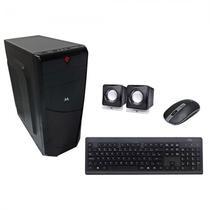 Gabinete Mtek D079B com Kit Teclado / Mouse / Speaker - Preto