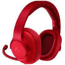 Headset Logitech G433 7.1 Vermelho