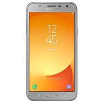 "Smartphone Samsung Galaxy J7 Neo SM-J701M/DS Dual Sim 16GB 5.5"" 13MP/5MP Os 7.0 - Prata"