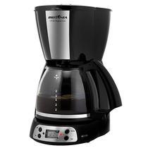 Cafeteira Britania CP38 Digital Inox com Timer 800 Watts 220V ~ 50/60 HZ - Preta