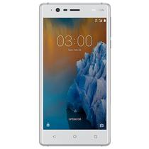 """Smartphone Nokia 3 TA-1038 DS Dual Sim 16GB Tela de 5.0"""" 8MP/8MP Os 7.1.1 - Branco"""