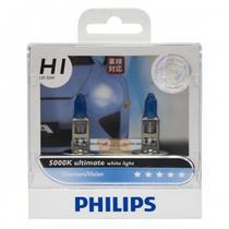 Lampada *Philips Diamond Vision H1 5000K s/Garantia