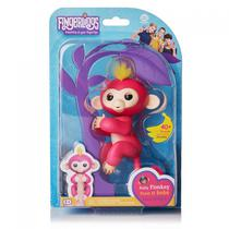 Boneco Fingerlings Bella Pink Monkey