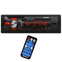 Toca Radio Automotivo Booster BMP-2390 - USB/Bluetooth - Controle - Preto