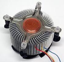 Cooler Intel P4 S775 - Base de Cobre