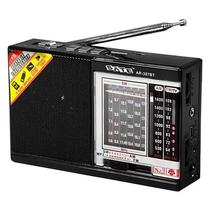 Radio Portatil Satellite AR-307BT AM / FM / Bluetooth / Lanterna LED - Preto e Prata