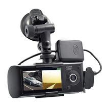 """Cameras Quanta Camera DVR 2 Lentes QTADV520 LCD 2,7""""/GPS/720P"""
