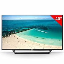 """Smart TV LED 40"""" Sony KDL 40W655D Wifi Full HD HDMI/USB com Conversor Digital"""