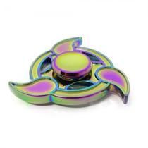 Spinner Anti Stress Metal Pequeno 3 Pontas Gotas