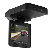 """Camera Automotiva F-198 1080P Tela de 2.4"""" com Visao Infravermelha - Preta"""