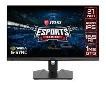 Monitor 27 MSI Optix MAG274QRF WQHD Ips 165HZ 1MS