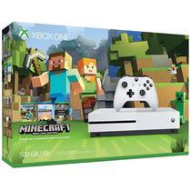 Console Xbox One Slim 500GB + Jogo Minecraft