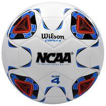 Bola de Futebol Wilson Copia II Ncaa WTE9410XB04 NO4 - Branca/Azul
