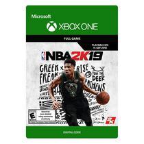 Jogo Nba 2K19 Xbox One - (Jogo Digital Cartao)
