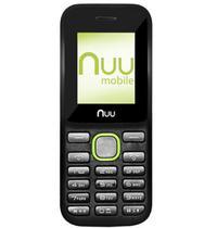 Celular Nuu F2 2G/Dual Preto/Verde