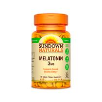 Melatonin 3MG - 60 Capsulas Sundown