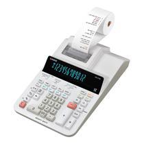 Calculadora com Bobina Casio DR-210R-We-U 110V - Branco