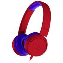 Fone de Ouvido JBL JR300 - Vermelho