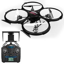 Drone Udirc Discovery U818A FPV Wi Fi 2.4GHZ 4 Canais/6 Eixos c/ Camera HD - Preto