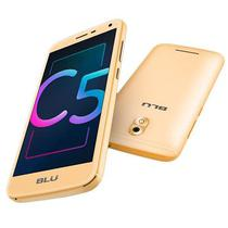 Smartphone Blu C5X C0010LL Dual Sim 8GB Tela 5 5MP/3.2MP Os 7.0 - Dourado
