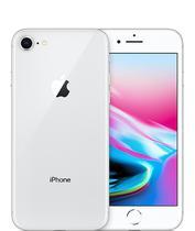 Celular Apple iPhone 8 - 64GB (BZ) Silver/ Branco Kit