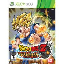Jogo Dragon Ball Ultimate Tenkaichi Xbox 360